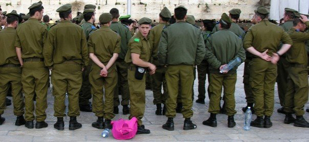 Soldiers in Jerusalem - March 2007