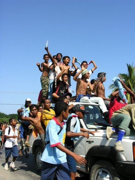 Anti-government protests in East Timor - December 2008
