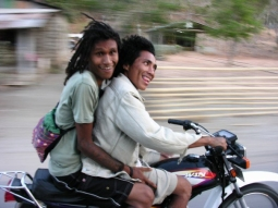 Bikers in East Timor - December 2008