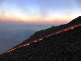 Volcano in Guatemala - February 2010