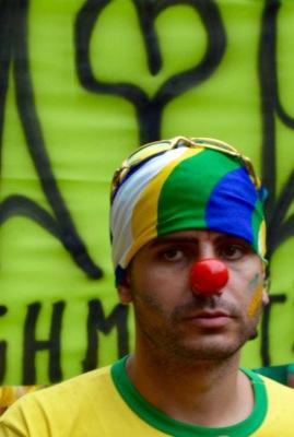 Sao Paulo anti-government protests - March 2015